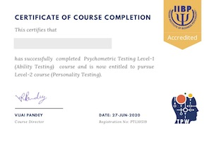 Psychometric Certification Level-1